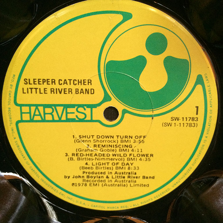 Little River Band Sleeper Catcher
